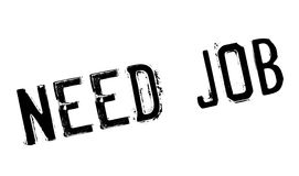 Need Job rubber stamp Royalty Free Stock Photos