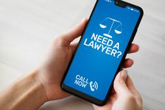 Need a lawyer Advocacy attorney at law Consulting. Need a lawyer Advocacy attorney at law Consulting stock photography
