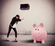 Need savings Royalty Free Stock Image