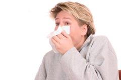 Need to sneeze Stock Photo