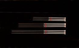 Needels da acupunctura Imagem de Stock