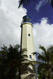 Needham point - one of the four lighthouses in Barbados Royalty Free Stock Photography