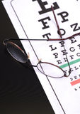 Needing Glasses Stock Photography