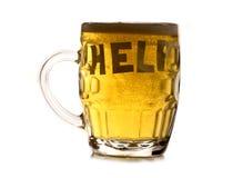 Needing help with alcoholism Stock Image