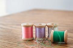 Needle And Thread Still Life Stock Photo