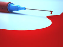 Needle Blood Royalty Free Stock Image