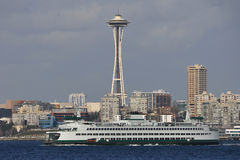 Needle and Ferry Royalty Free Stock Image