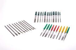 Needle File Sharpening Set Stock Photos