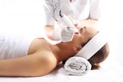 Needle mesotherapy, Wrinkle Reduction Stock Photo