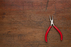 Needle nose pliers Royalty Free Stock Images