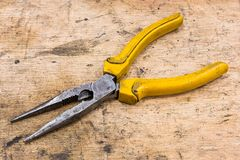 Needle Nose Pliers stock photo