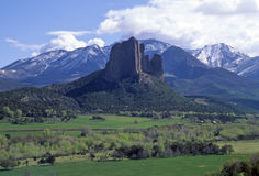 Needle Rock, Colorado Stock Photography