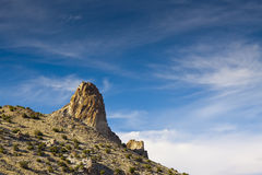 Needle Rock Nevada Stock Photo