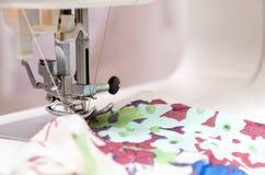 Needle of Sewing Machine Stock Photo