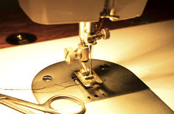 Needle of sewing machine Stock Images