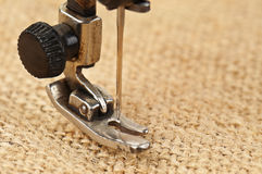Needle sewing machine Stock Image