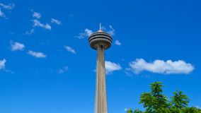 Needle in the Sky Royalty Free Stock Photography