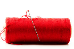 Needle and stitch Stock Image