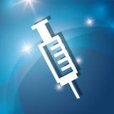 Needle syringe medical Royalty Free Stock Image
