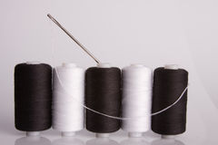 Needle and thread Royalty Free Stock Image