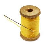 Needle and Thread. royalty free stock photos