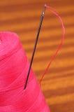 Needle with thread Royalty Free Stock Photo