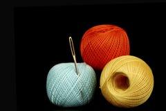 Needle thread Royalty Free Stock Image