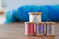 Needle and Thread Still Life Royalty Free Stock Photo