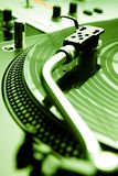 Needle on the vinyl record Royalty Free Stock Image