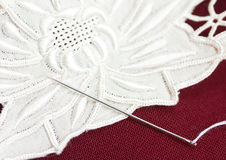 Needle work Royalty Free Stock Images
