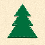 Needlecraft Christmas Tree Royalty Free Stock Image