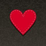 Needlecraft Heart Royalty Free Stock Photography