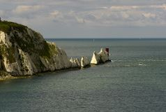 The Needles Stock Image