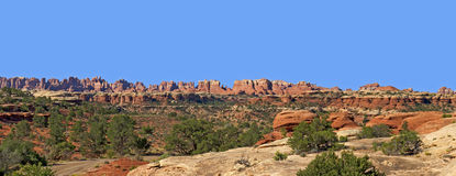 The Needles, Canyonlands National Park Stock Image