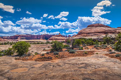 Needles District Canyonlads Stock Images
