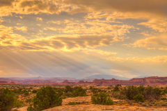 Needles District of the Canyonlands National Park in Utah. Royalty Free Stock Photography
