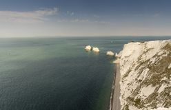 The Needles, Isle of Wight, England Stock Image