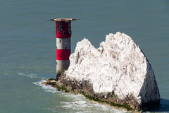 The Needles Isle Of Wight England UK Royalty Free Stock Photo