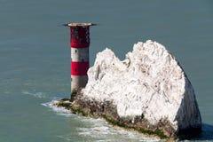 The Needles Isle Of Wight England UK Royalty Free Stock Photo