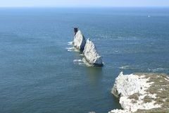 Needles on the Isle of Wight Stock Photo