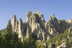 The Needles on Needles Highway Stock Photo