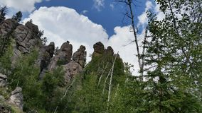 Needles Road. Black Hills Tourist Stop Stock Photography