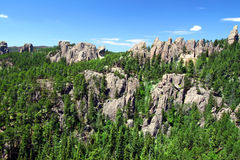 Needles Rock Formations Royalty Free Stock Photo