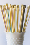 Needles in a Vase Royalty Free Stock Photography