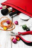 Needlework отбортовывая плоскогубцы Стоковые Фото