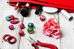Needlework отбортовывая плоскогубцы Стоковая Фотография RF