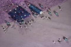 needlework arkivfoto