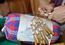 Needlework стоковое изображение