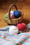 Needlework accessories Stock Images