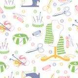 Needlework background. Royalty Free Stock Image